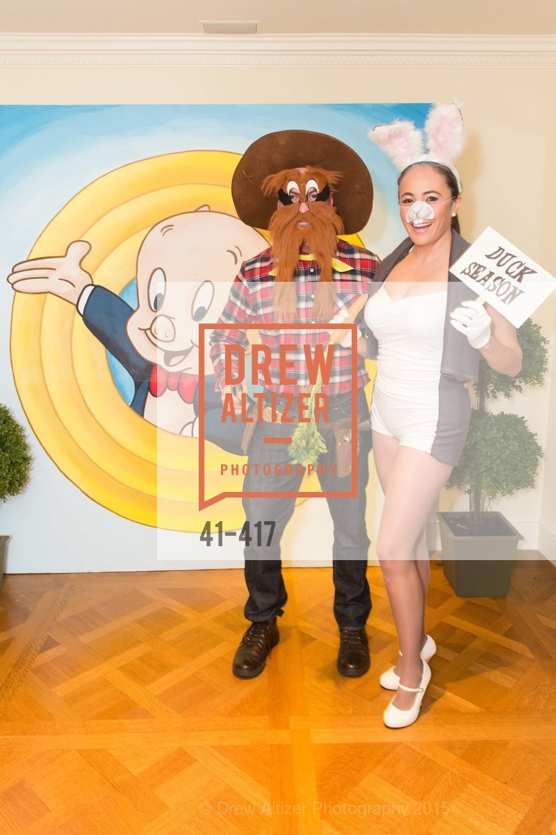 Christopher Key, Marcela Bernal, Wolfson-Federighi Cartoon Costume Party, Private Residence. 737 Bay Road, October 24th, 2015,Drew Altizer, Drew Altizer Photography, full-service agency, private events, San Francisco photographer, photographer california