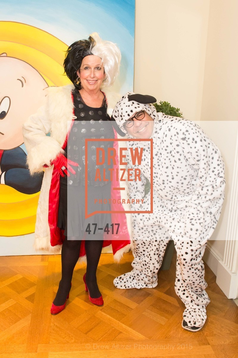 Karen Kubin, Gary Garabedian, Wolfson-Federighi Cartoon Costume Party, Private Residence. 737 Bay Road, October 24th, 2015,Drew Altizer, Drew Altizer Photography, full-service event agency, private events, San Francisco photographer, photographer California