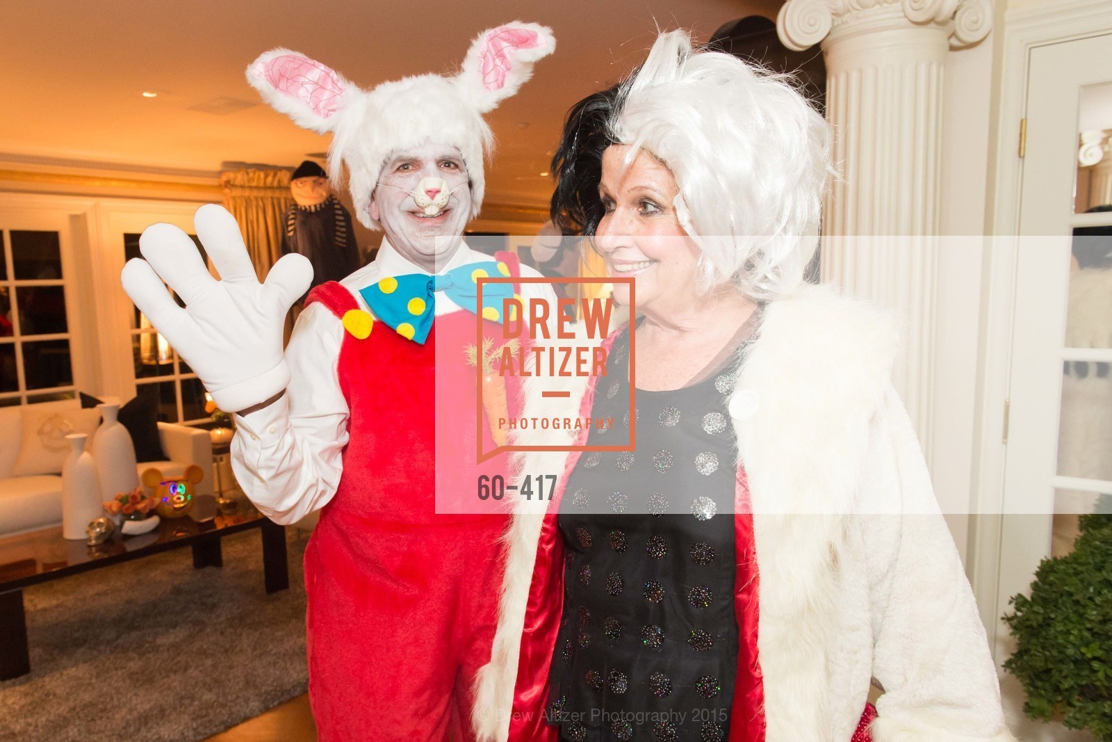 Bob Federighi, Karen Kubin, Wolfson-Federighi Cartoon Costume Party, Private Residence. 737 Bay Road, October 24th, 2015,Drew Altizer, Drew Altizer Photography, full-service agency, private events, San Francisco photographer, photographer california