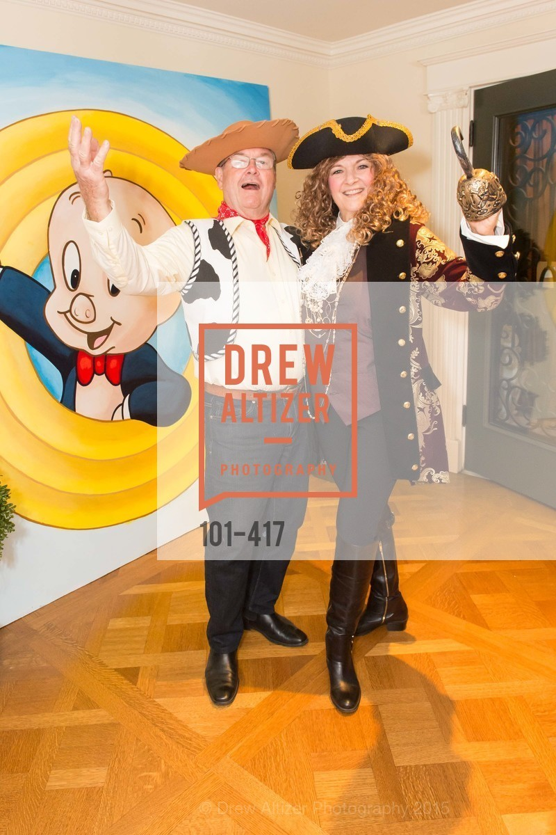 Jim Malott, Susan Malott, Wolfson-Federighi Cartoon Costume Party, Private Residence. 737 Bay Road, October 24th, 2015,Drew Altizer, Drew Altizer Photography, full-service agency, private events, San Francisco photographer, photographer california