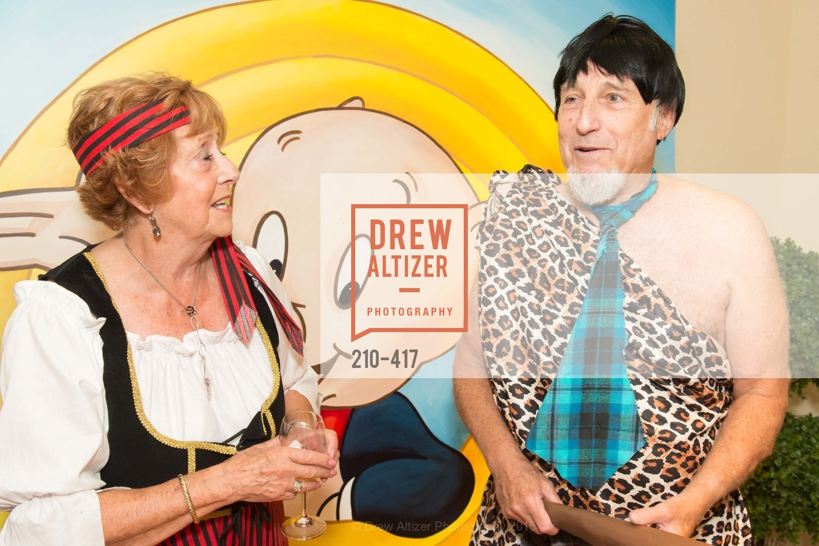 Jean Cartwright, Harold Blajwas, Wolfson-Federighi Cartoon Costume Party, Private Residence. 737 Bay Road, October 24th, 2015,Drew Altizer, Drew Altizer Photography, full-service agency, private events, San Francisco photographer, photographer california
