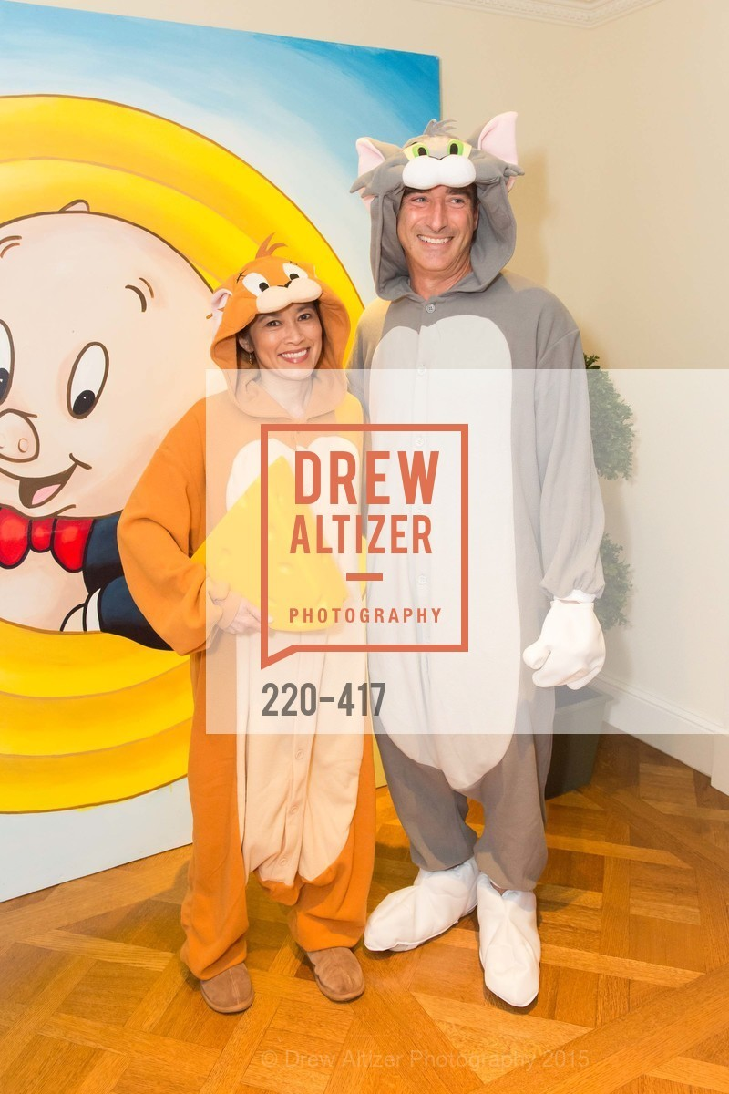 Katherine Huey, Keith Daly, Wolfson-Federighi Cartoon Costume Party, Private Residence. 737 Bay Road, October 24th, 2015,Drew Altizer, Drew Altizer Photography, full-service agency, private events, San Francisco photographer, photographer california