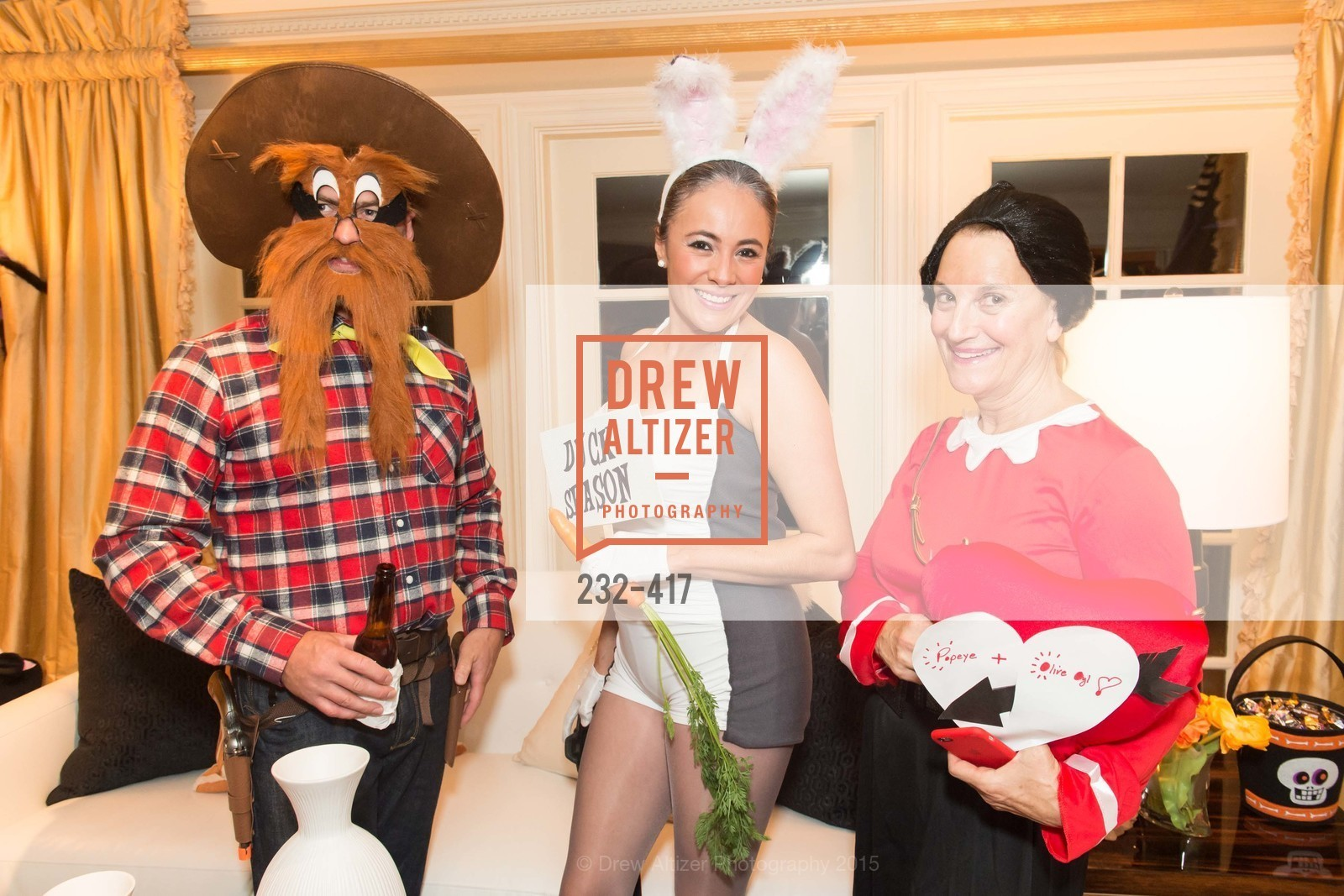 Christopher Key, Marcela Bernal, Debby Sagues, Wolfson-Federighi Cartoon Costume Party, Private Residence. 737 Bay Road, October 24th, 2015,Drew Altizer, Drew Altizer Photography, full-service agency, private events, San Francisco photographer, photographer california