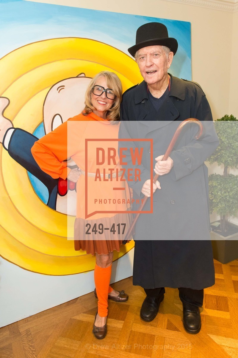 Sharon Guy, Bernie Hagan, Wolfson-Federighi Cartoon Costume Party, Private Residence. 737 Bay Road, October 24th, 2015,Drew Altizer, Drew Altizer Photography, full-service agency, private events, San Francisco photographer, photographer california