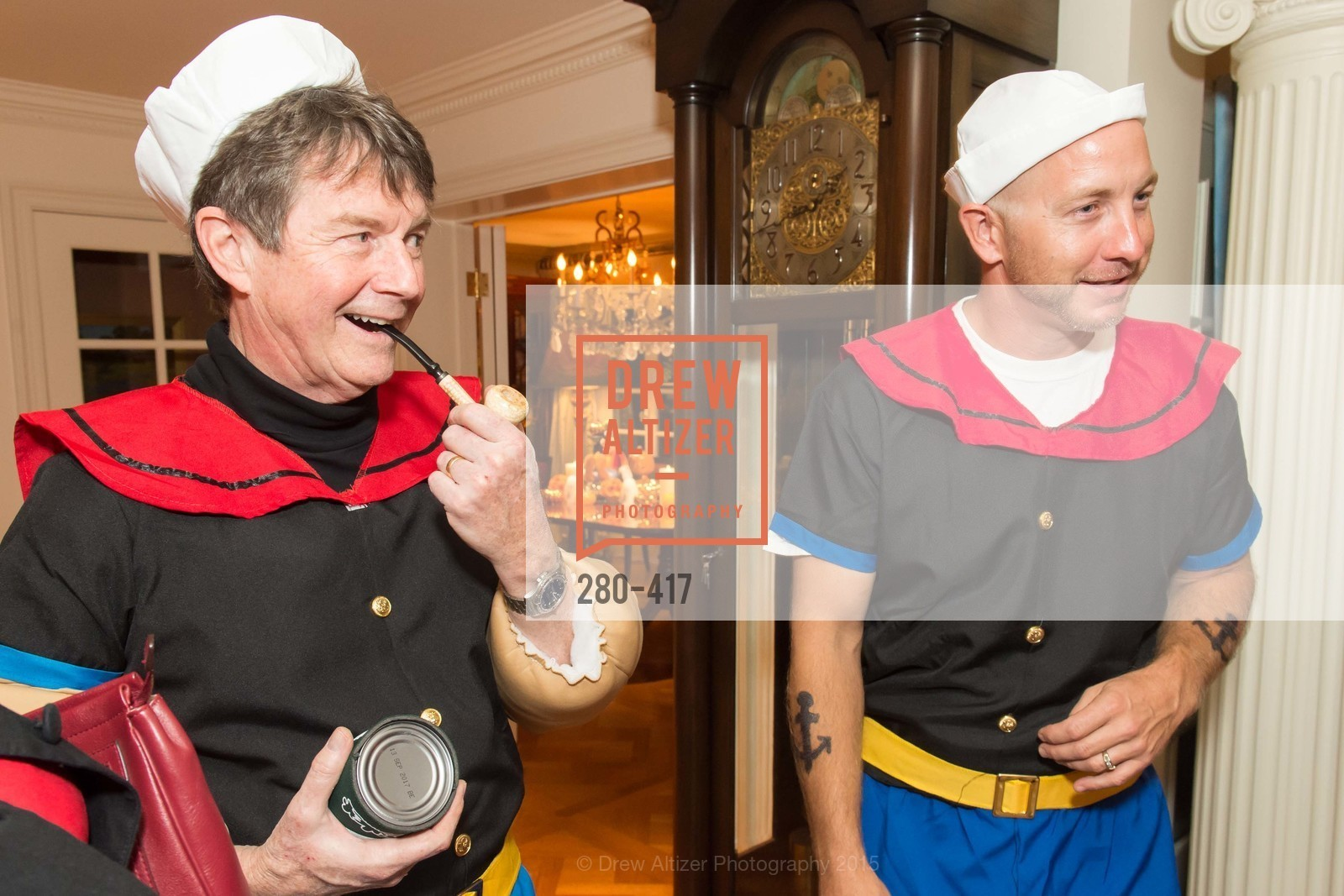 Paul Sagues, David Tamboury, Wolfson-Federighi Cartoon Costume Party, Private Residence. 737 Bay Road, October 24th, 2015,Drew Altizer, Drew Altizer Photography, full-service agency, private events, San Francisco photographer, photographer california