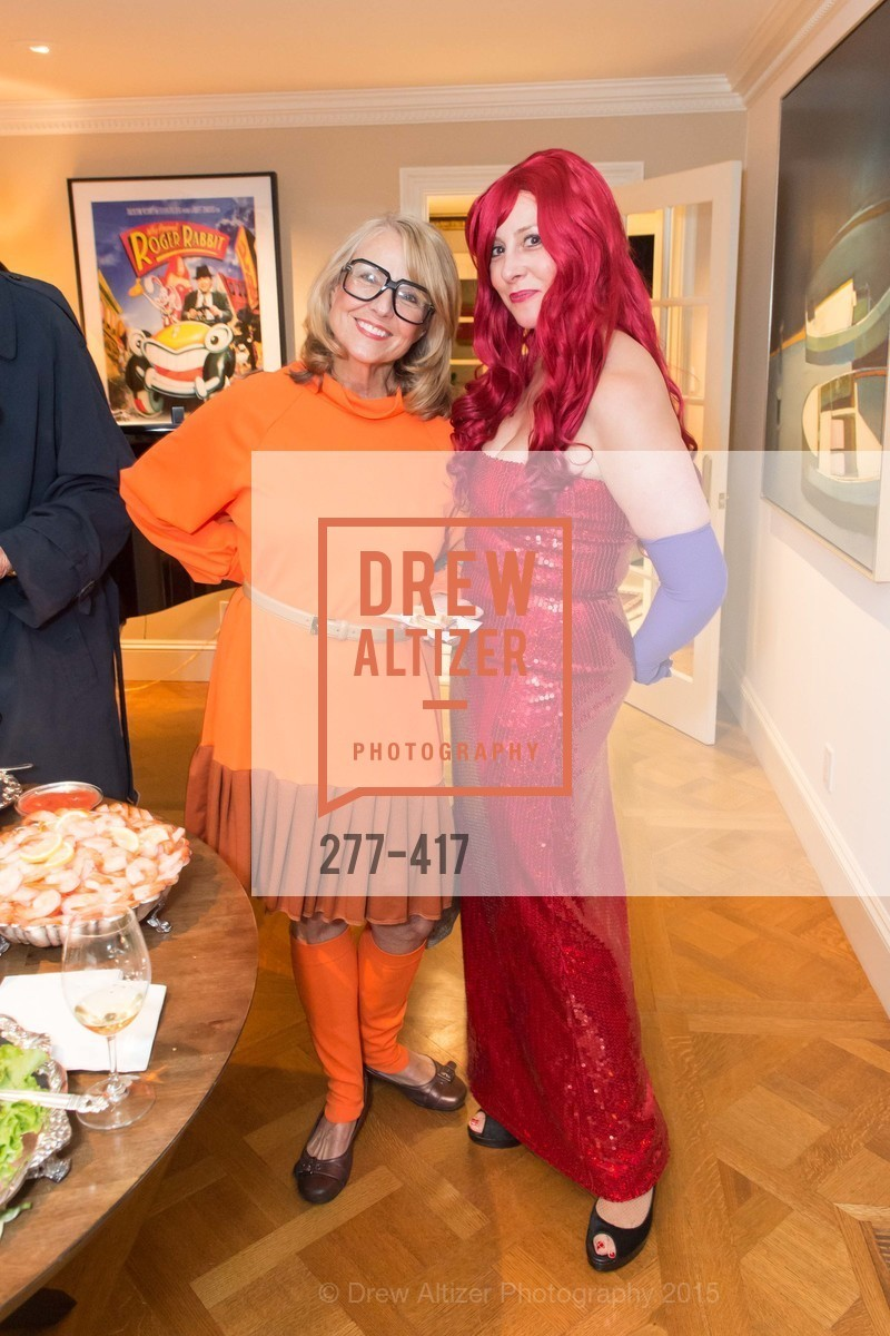 Sharon Guy, Ginny Ziegler, Wolfson-Federighi Cartoon Costume Party, Private Residence. 737 Bay Road, October 24th, 2015,Drew Altizer, Drew Altizer Photography, full-service agency, private events, San Francisco photographer, photographer california