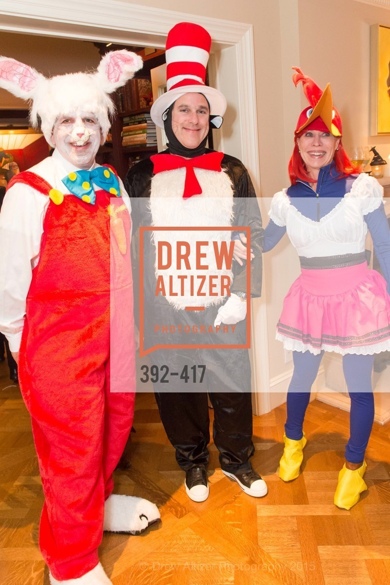 Bob Federighi, Gregory Malin, Sheila Nemer, Wolfson-Federighi Cartoon Costume Party, Private Residence. 737 Bay Road, October 24th, 2015,Drew Altizer, Drew Altizer Photography, full-service agency, private events, San Francisco photographer, photographer california