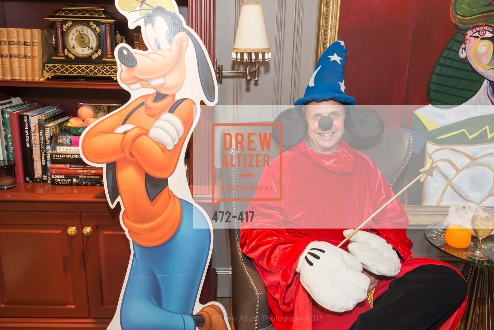 Steve Maniscalco, Wolfson-Federighi Cartoon Costume Party, Private Residence. 737 Bay Road, October 24th, 2015,Drew Altizer, Drew Altizer Photography, full-service agency, private events, San Francisco photographer, photographer california