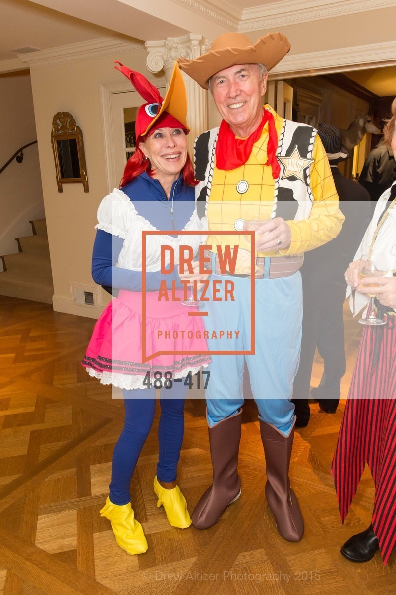 Sheila Nemer, Ian Cartwright, Wolfson-Federighi Cartoon Costume Party, Private Residence. 737 Bay Road, October 24th, 2015,Drew Altizer, Drew Altizer Photography, full-service agency, private events, San Francisco photographer, photographer california