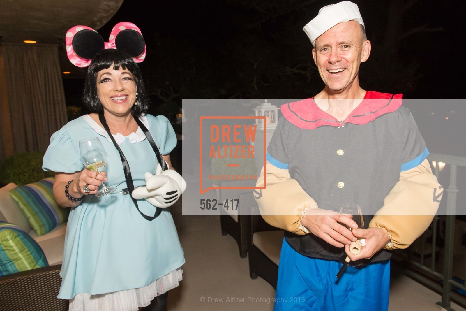 Brenda Wissbrod, Andy Slucky, Wolfson-Federighi Cartoon Costume Party, Private Residence. 737 Bay Road, October 24th, 2015,Drew Altizer, Drew Altizer Photography, full-service agency, private events, San Francisco photographer, photographer california