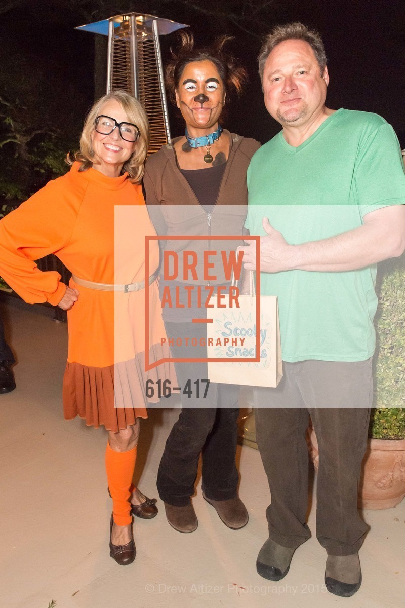 Sharon Guy, Suzanne Mendieta, Gregor Mendieta, Wolfson-Federighi Cartoon Costume Party, Private Residence. 737 Bay Road, October 24th, 2015,Drew Altizer, Drew Altizer Photography, full-service event agency, private events, San Francisco photographer, photographer California