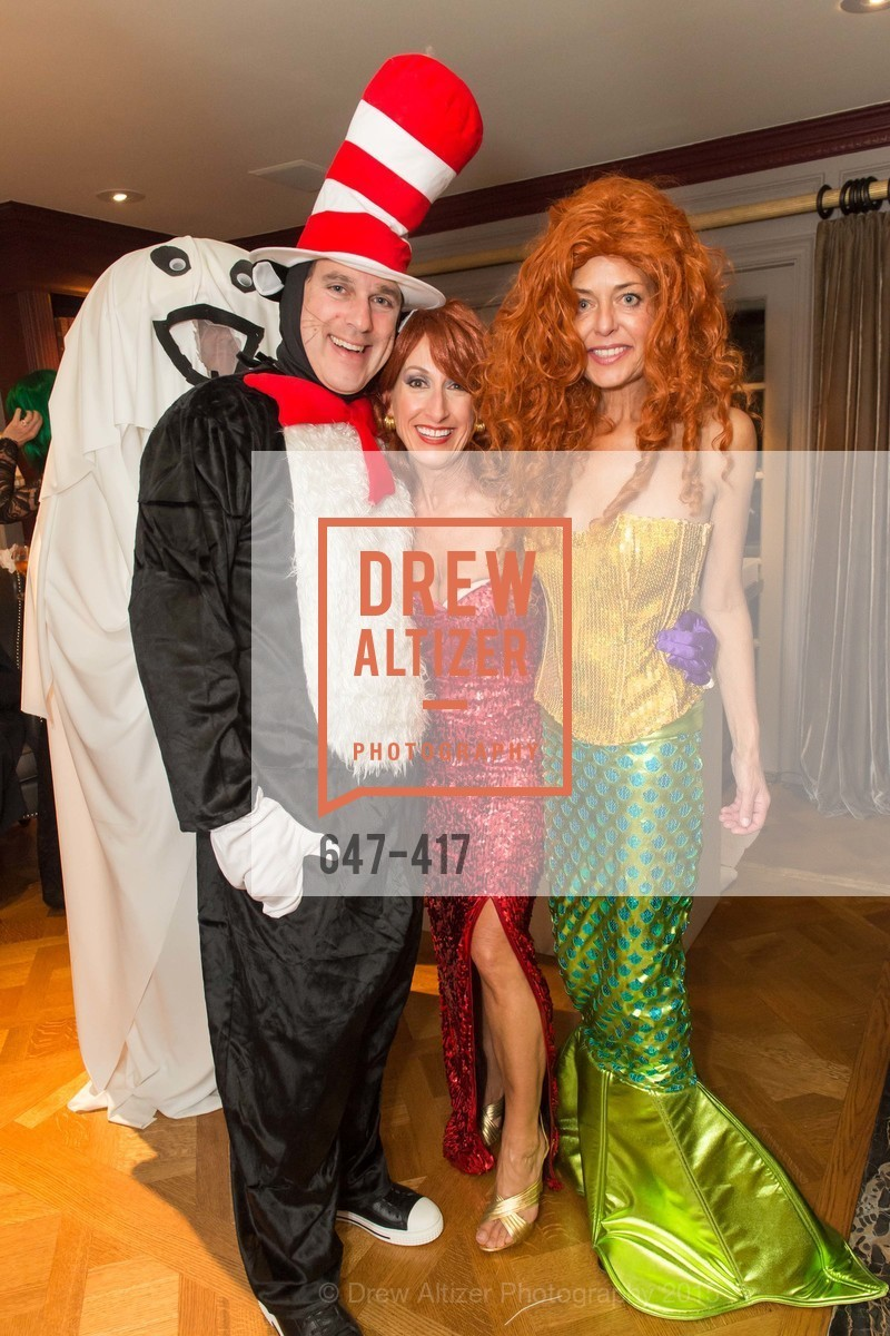Peter Mueller, Gregory Malin, Toni Wolfson, Charlot Malin, Wolfson-Federighi Cartoon Costume Party, Private Residence. 737 Bay Road, October 24th, 2015,Drew Altizer, Drew Altizer Photography, full-service agency, private events, San Francisco photographer, photographer california