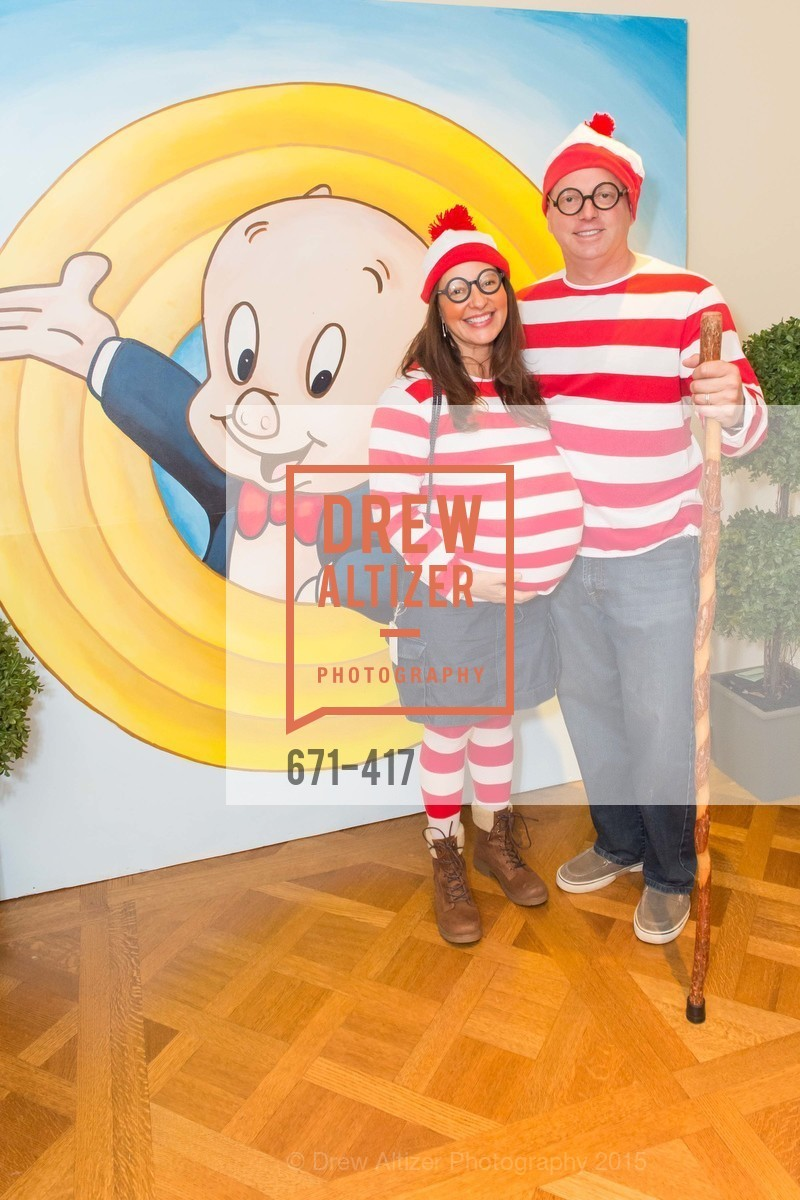 Leah Lamstein, Aaron Lamstein, Wolfson-Federighi Cartoon Costume Party, Private Residence. 737 Bay Road, October 24th, 2015,Drew Altizer, Drew Altizer Photography, full-service agency, private events, San Francisco photographer, photographer california
