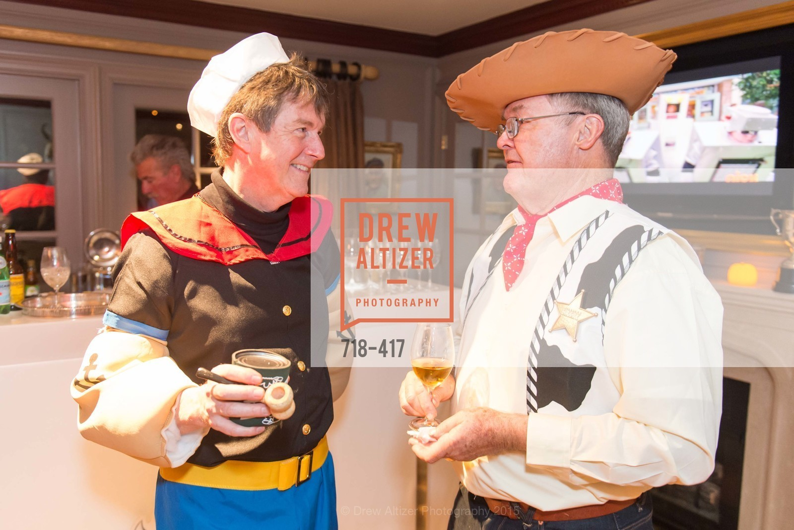 Paul Sagues, Jim Malott, Wolfson-Federighi Cartoon Costume Party, Private Residence. 737 Bay Road, October 24th, 2015,Drew Altizer, Drew Altizer Photography, full-service agency, private events, San Francisco photographer, photographer california