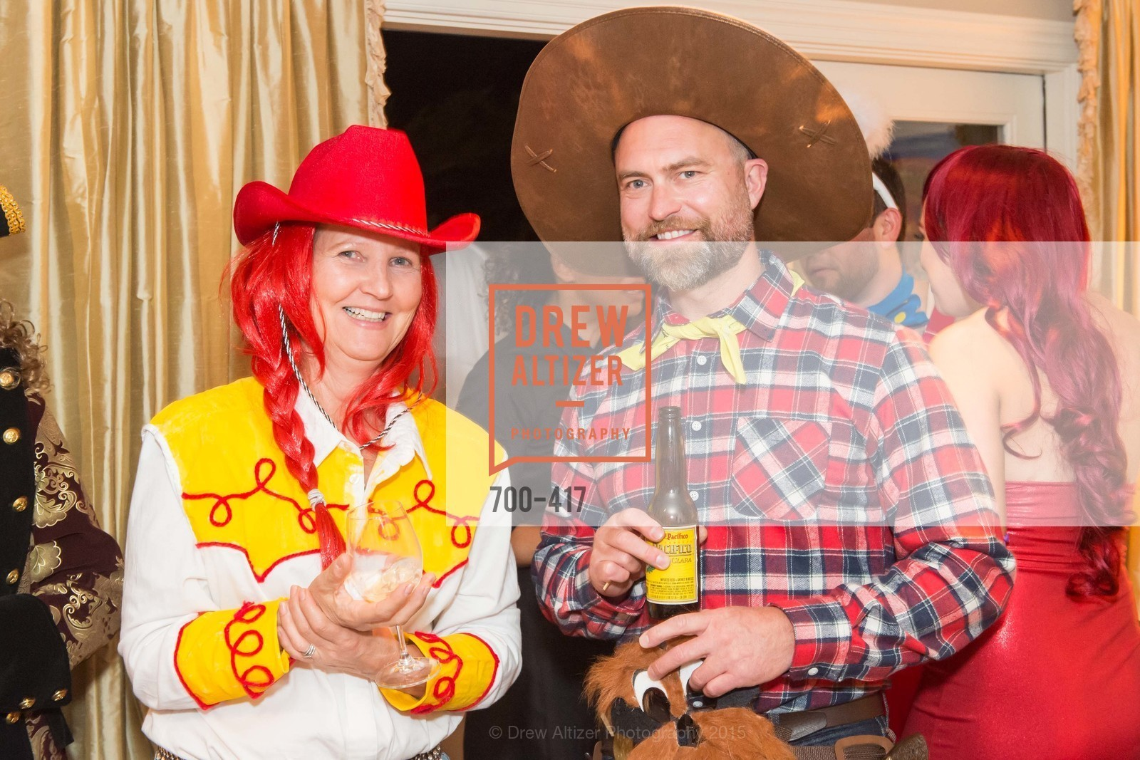 Liz Hellmann, Christopher Key, Wolfson-Federighi Cartoon Costume Party, Private Residence. 737 Bay Road, October 24th, 2015,Drew Altizer, Drew Altizer Photography, full-service agency, private events, San Francisco photographer, photographer california