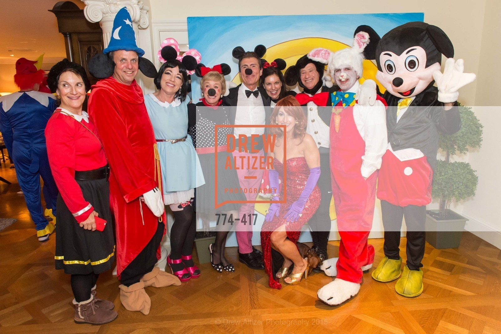 Debby Sagues, Steve Maniscalco, Brenda Wissbrod, Maria Pitcairn, Robert Beadle, Toni Wolfson, Bridget Fish, Howard Fish, Bob Federighi, Steve Kliener, Wolfson-Federighi Cartoon Costume Party, Private Residence. 737 Bay Road, October 24th, 2015,Drew Altizer, Drew Altizer Photography, full-service agency, private events, San Francisco photographer, photographer california