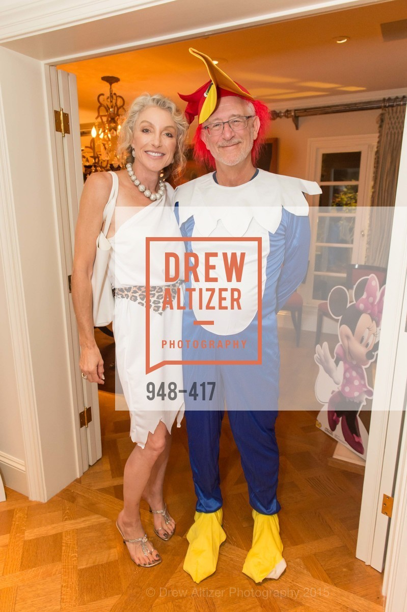 Alisa Burgess-Blajwas, Gary Nemer, Wolfson-Federighi Cartoon Costume Party, Private Residence. 737 Bay Road, October 24th, 2015,Drew Altizer, Drew Altizer Photography, full-service agency, private events, San Francisco photographer, photographer california