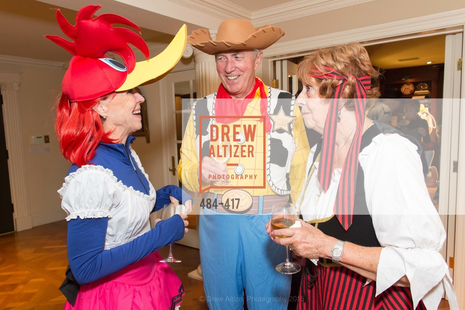 Sheila Nemer, Ian Cartwright, Jean Cartwright, Wolfson-Federighi Cartoon Costume Party, Private Residence. 737 Bay Road, October 24th, 2015,Drew Altizer, Drew Altizer Photography, full-service agency, private events, San Francisco photographer, photographer california