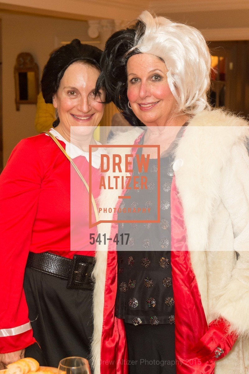 Debby Sagues, Karen Kubin, Wolfson-Federighi Cartoon Costume Party, Private Residence. 737 Bay Road, October 24th, 2015,Drew Altizer, Drew Altizer Photography, full-service agency, private events, San Francisco photographer, photographer california