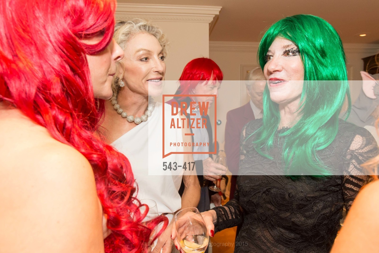 Alisa Burgess-Blajwas, Mary Poland, Wolfson-Federighi Cartoon Costume Party, Private Residence. 737 Bay Road, October 24th, 2015,Drew Altizer, Drew Altizer Photography, full-service agency, private events, San Francisco photographer, photographer california