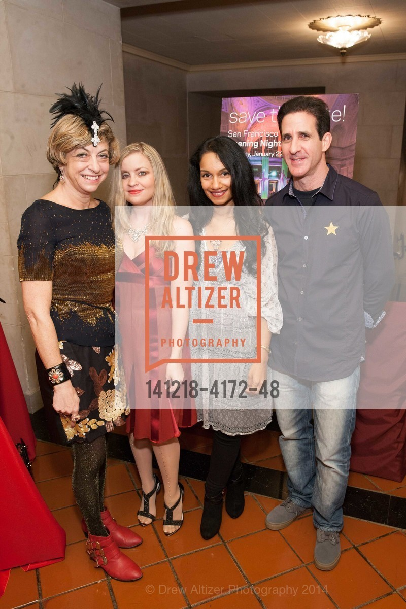 Ludmila Eggleton, Julie Hall, Ishara Kotagana, Adam Thaler, Photo #141218-4172-48