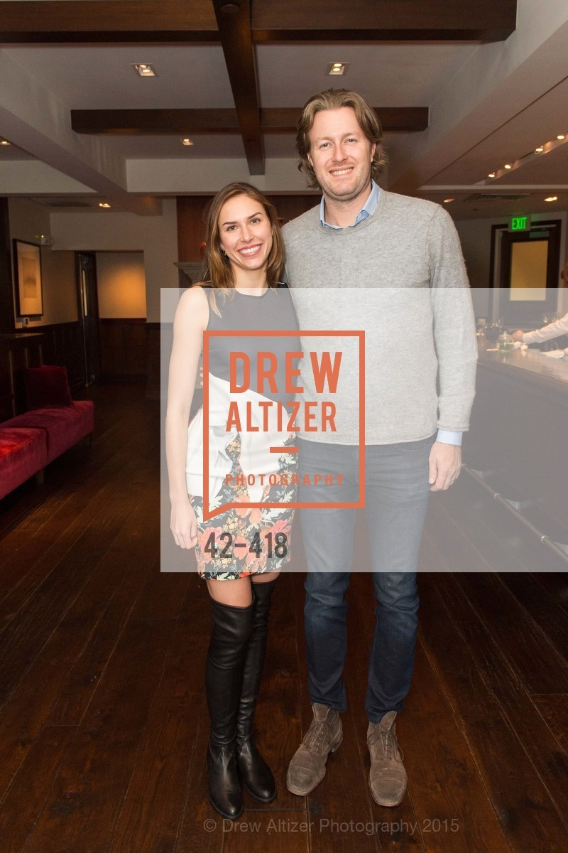 Felicity Conrad, Justin Shaffer, Artsy and Sotheby's Village Pub Dinner, Village Pub, October 27th, 2015,Drew Altizer, Drew Altizer Photography, full-service agency, private events, San Francisco photographer, photographer california