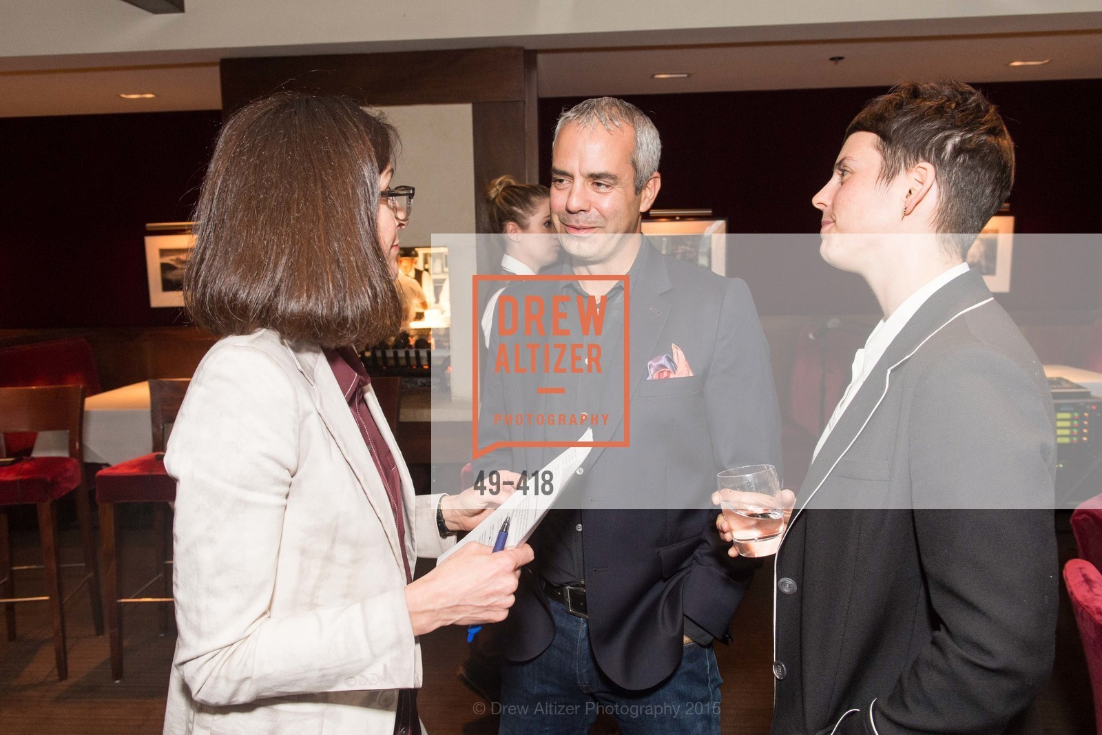 Kevin Johnson, Jessica Silverman, Artsy and Sotheby's Village Pub Dinner, Village Pub, October 27th, 2015,Drew Altizer, Drew Altizer Photography, full-service agency, private events, San Francisco photographer, photographer california