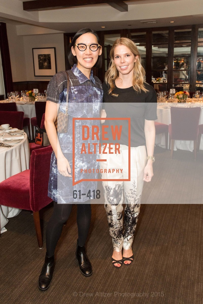 Christine Kuan, Courtney Kremers, Artsy and Sotheby's Village Pub Dinner, Village Pub, October 27th, 2015,Drew Altizer, Drew Altizer Photography, full-service agency, private events, San Francisco photographer, photographer california