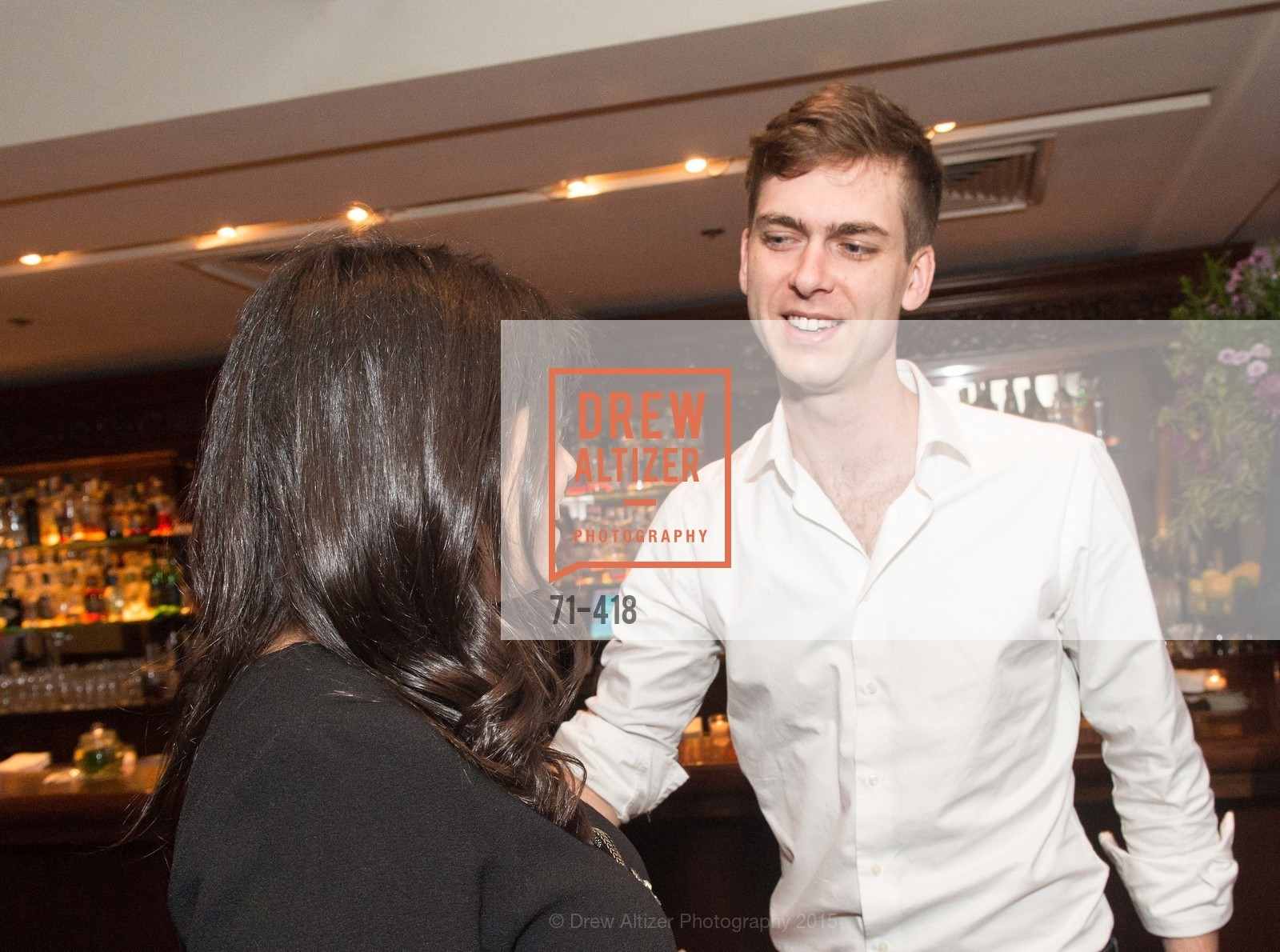 Carter Cleveland, Artsy and Sotheby's Village Pub Dinner, Village Pub, October 27th, 2015,Drew Altizer, Drew Altizer Photography, full-service agency, private events, San Francisco photographer, photographer california