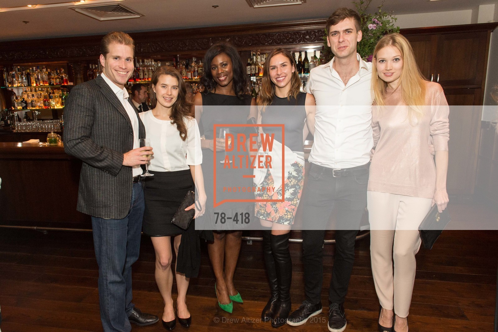Joe Lonsdale, Tayler Cox, NIna Mundi, Felicity Conrad, Carter Cleveland, Elena Soboleva, Artsy and Sotheby's Village Pub Dinner, Village Pub, October 27th, 2015,Drew Altizer, Drew Altizer Photography, full-service agency, private events, San Francisco photographer, photographer california
