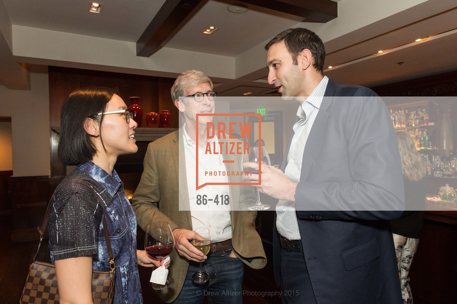 Christine Kuan, Daniel Doubrovkine, Artsy and Sotheby's Village Pub Dinner, Village Pub, October 27th, 2015,Drew Altizer, Drew Altizer Photography, full-service agency, private events, San Francisco photographer, photographer california
