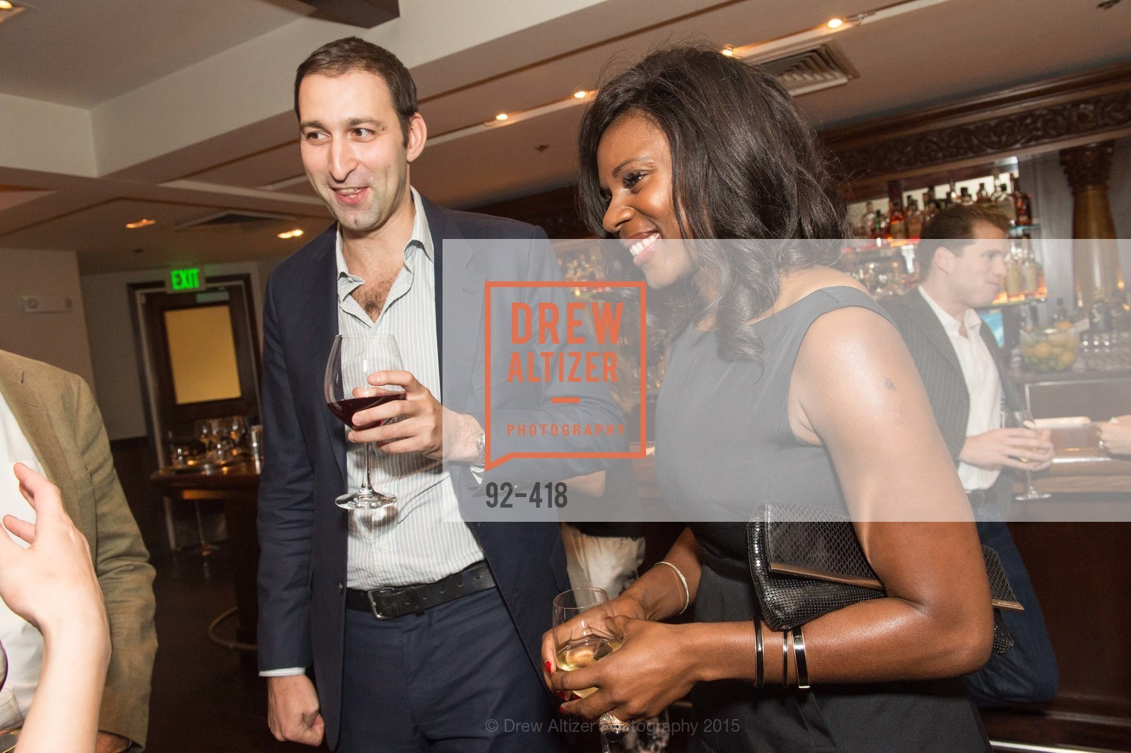 Daniel Doubrovkine, NIna Mundi, Artsy and Sotheby's Village Pub Dinner, Village Pub, October 27th, 2015,Drew Altizer, Drew Altizer Photography, full-service agency, private events, San Francisco photographer, photographer california