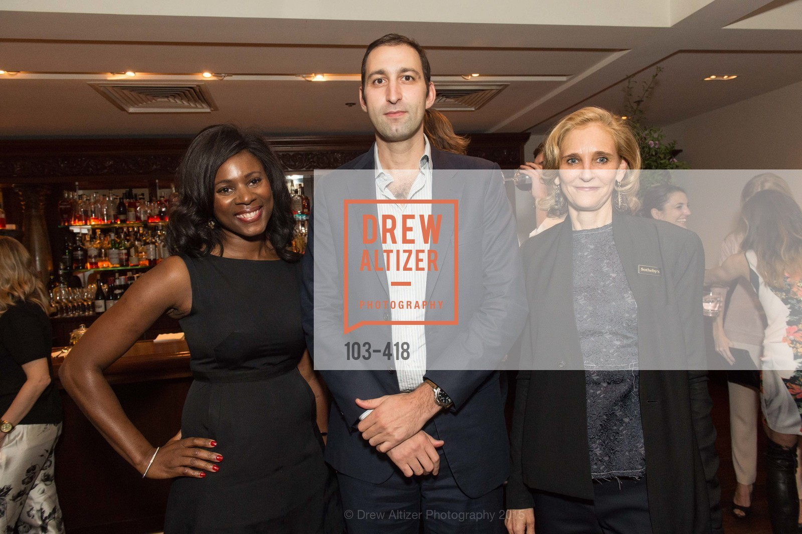 NIna Mundi, Daniel Doubrovkine, Jennifer Biederbeck, Artsy and Sotheby's Village Pub Dinner, Village Pub, October 27th, 2015,Drew Altizer, Drew Altizer Photography, full-service agency, private events, San Francisco photographer, photographer california