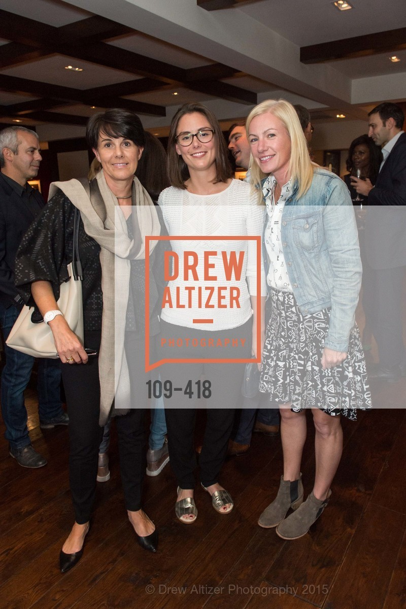 Kristin Duval, Justine Chaussom, Elizabeth Sullivan, Artsy and Sotheby's Village Pub Dinner, Village Pub, October 27th, 2015,Drew Altizer, Drew Altizer Photography, full-service agency, private events, San Francisco photographer, photographer california
