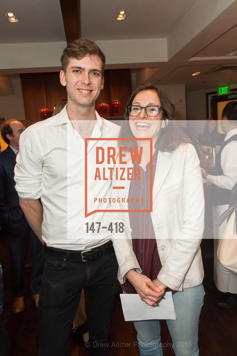 Carter Cleveland, Sarah Thornton, Artsy and Sotheby's Village Pub Dinner, Village Pub, October 27th, 2015,Drew Altizer, Drew Altizer Photography, full-service agency, private events, San Francisco photographer, photographer california