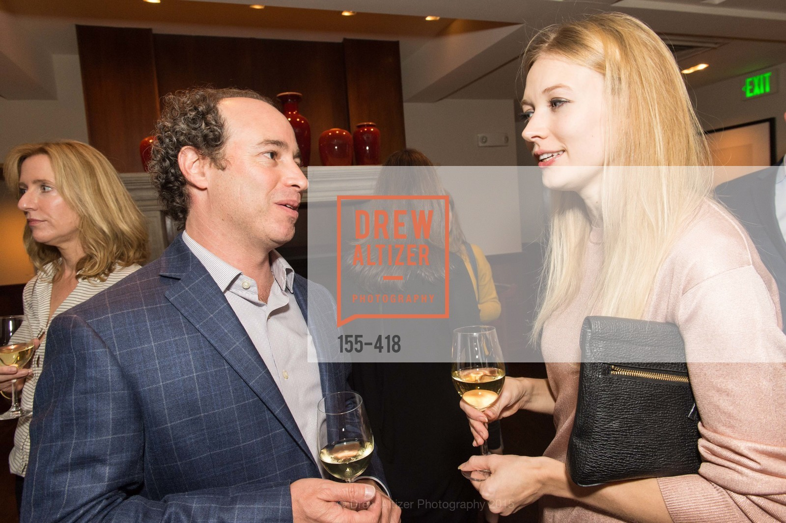 Jason Linetzky, Elena Soboleva, Artsy and Sotheby's Village Pub Dinner, Village Pub, October 27th, 2015,Drew Altizer, Drew Altizer Photography, full-service agency, private events, San Francisco photographer, photographer california