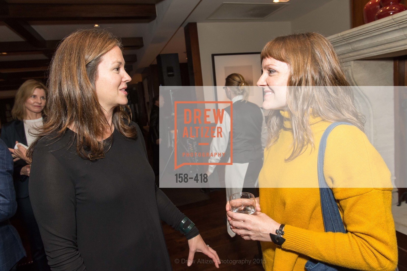 Sarah Shepard, Kristin Delzell, Artsy and Sotheby's Village Pub Dinner, Village Pub, October 27th, 2015,Drew Altizer, Drew Altizer Photography, full-service agency, private events, San Francisco photographer, photographer california