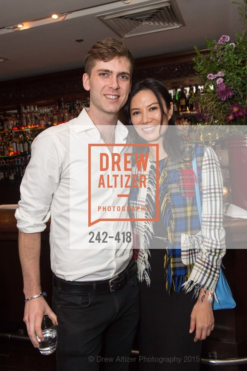 Carter Cleveland, Wendi Murdoch, Artsy and Sotheby's Village Pub Dinner, Village Pub, October 27th, 2015,Drew Altizer, Drew Altizer Photography, full-service agency, private events, San Francisco photographer, photographer california