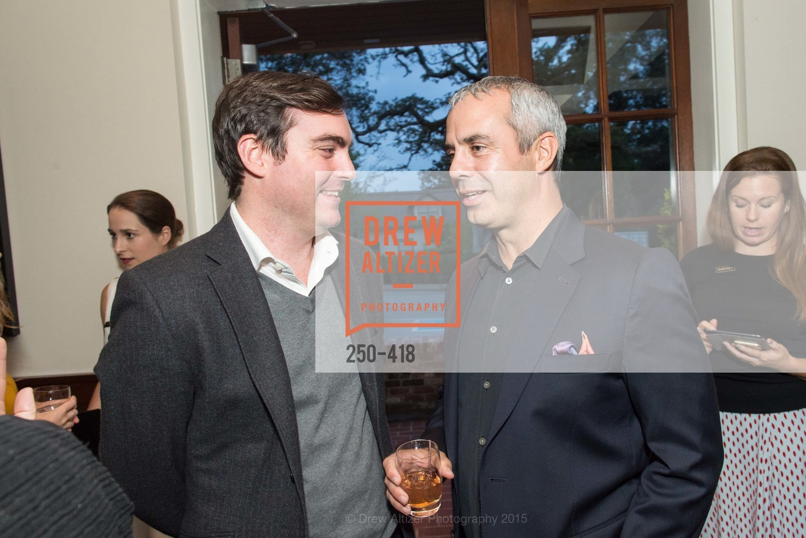 Charles Moffett, Kevin Johnson, Artsy and Sotheby's Village Pub Dinner, Village Pub, October 27th, 2015,Drew Altizer, Drew Altizer Photography, full-service agency, private events, San Francisco photographer, photographer california