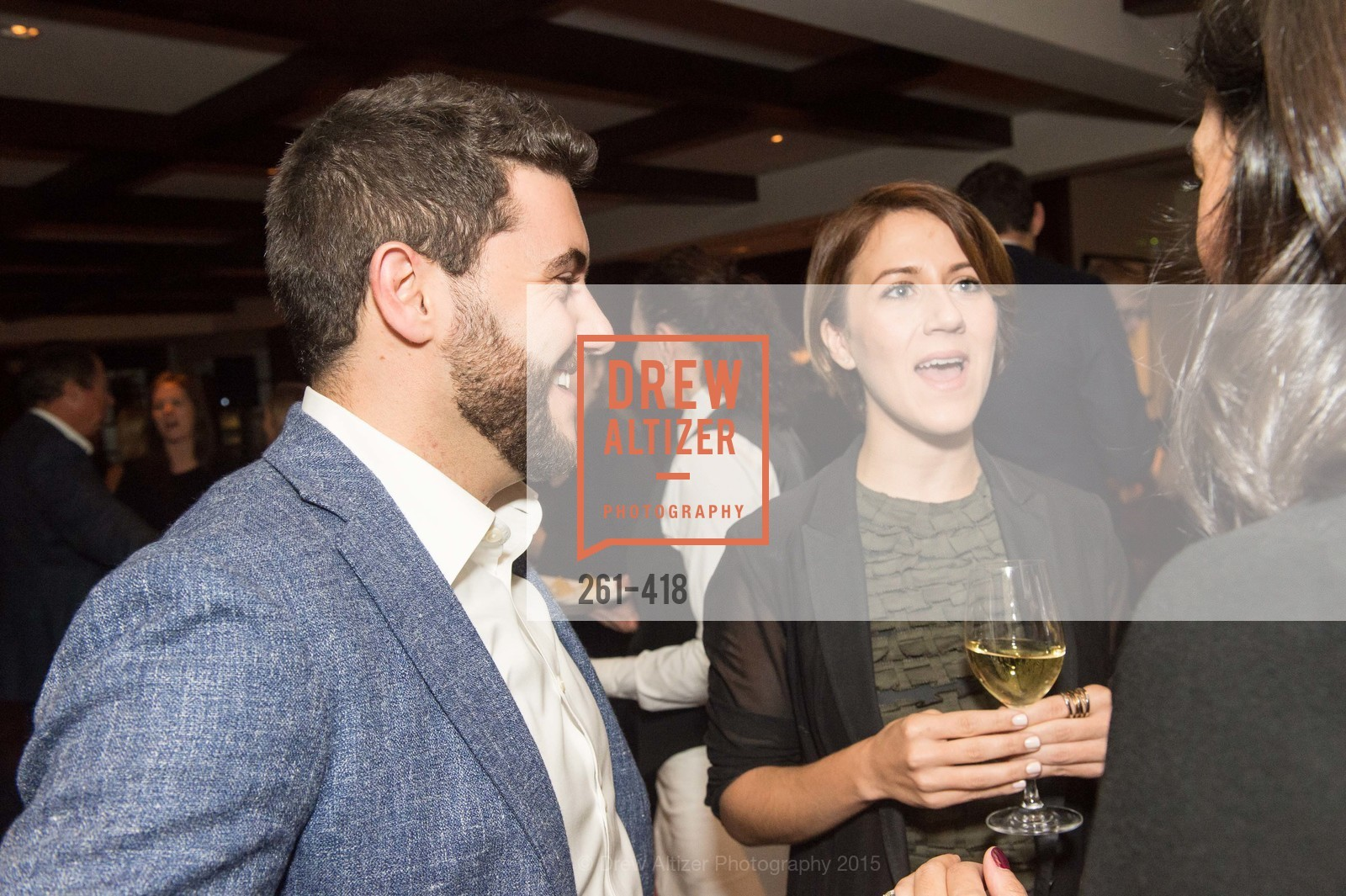 Rafael Burde, Clara Brenner, Artsy and Sotheby's Village Pub Dinner, Village Pub, October 27th, 2015,Drew Altizer, Drew Altizer Photography, full-service agency, private events, San Francisco photographer, photographer california