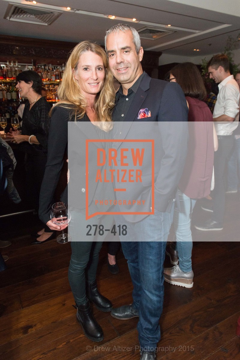 Melinda Johnson, Kevin Johnson, Artsy and Sotheby's Village Pub Dinner, Village Pub, October 27th, 2015,Drew Altizer, Drew Altizer Photography, full-service agency, private events, San Francisco photographer, photographer california