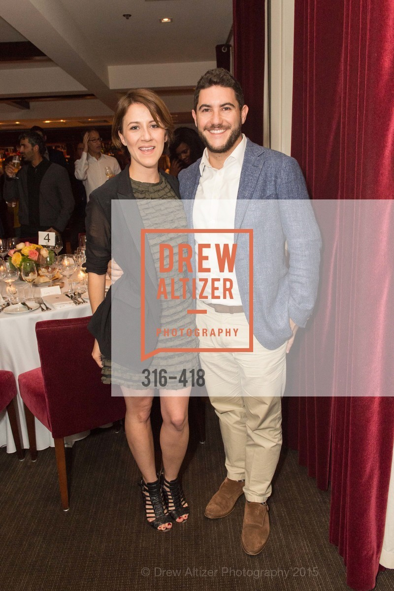 Clara Brenner, Rafael Burde, Artsy and Sotheby's Village Pub Dinner, Village Pub, October 27th, 2015,Drew Altizer, Drew Altizer Photography, full-service agency, private events, San Francisco photographer, photographer california