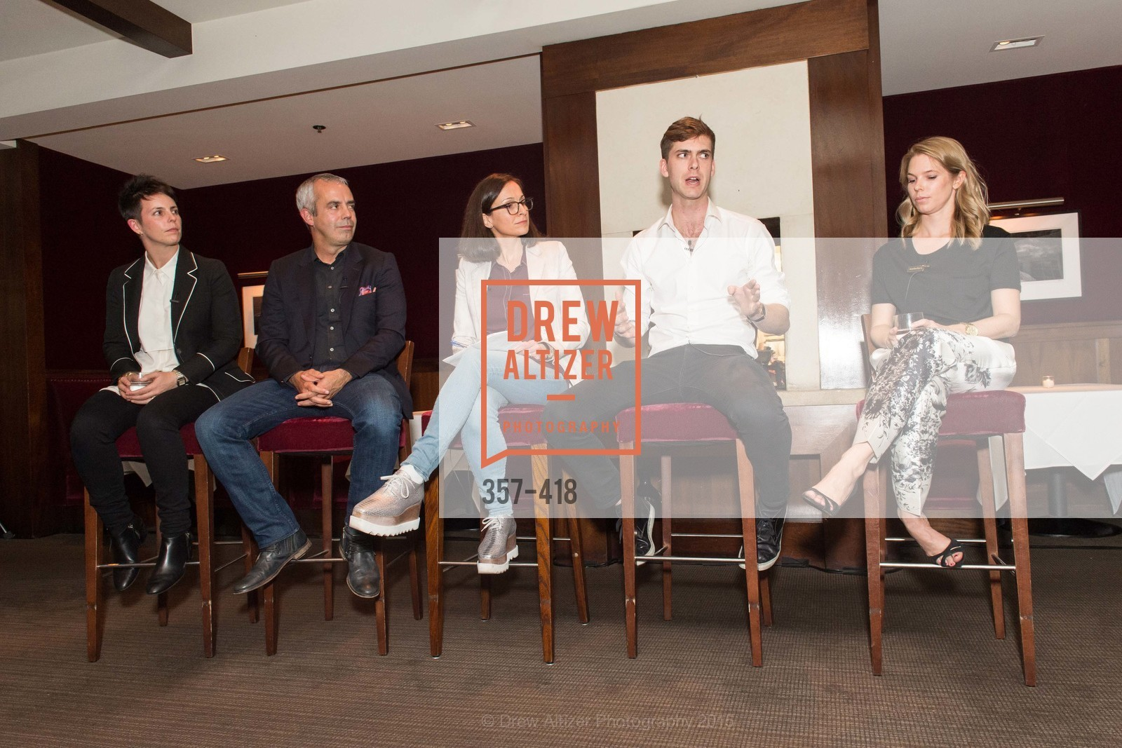 Jessica Silverman, Kevin Johnson, Sarah Thornton, Carter Cleveland, Courtney Kremers, Artsy and Sotheby's Village Pub Dinner, Village Pub, October 27th, 2015,Drew Altizer, Drew Altizer Photography, full-service agency, private events, San Francisco photographer, photographer california