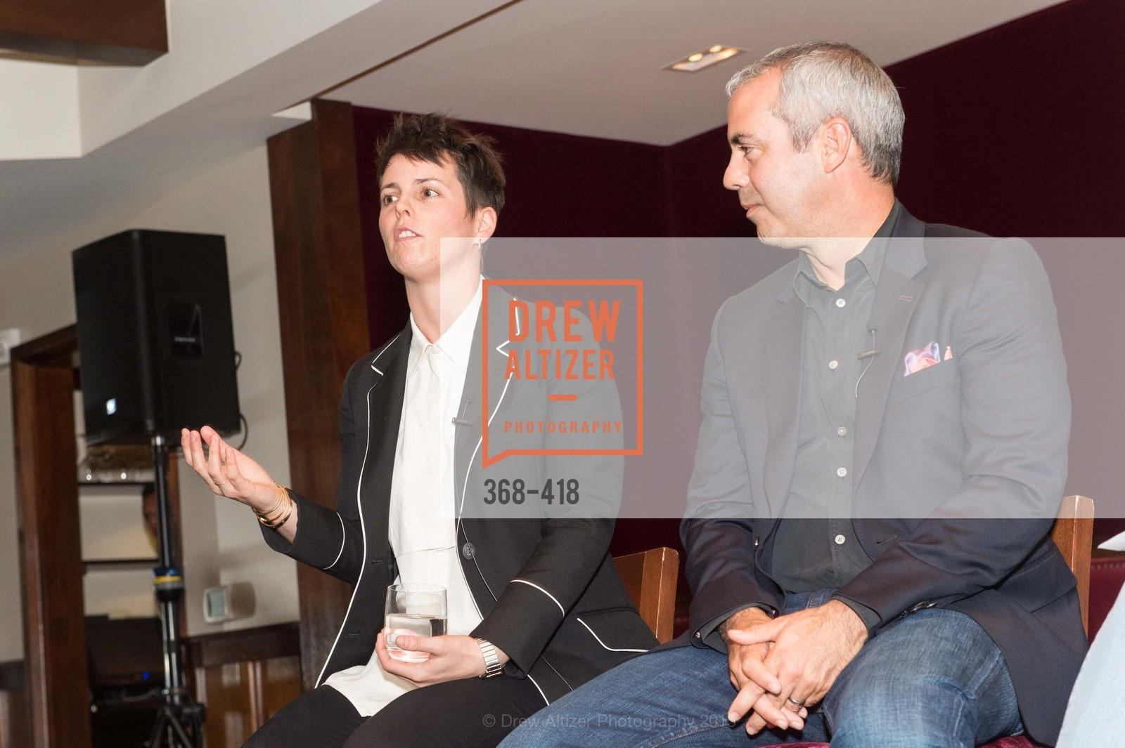 Jessica Silverman, Kevin Johnson, Artsy and Sotheby's Village Pub Dinner, Village Pub, October 27th, 2015