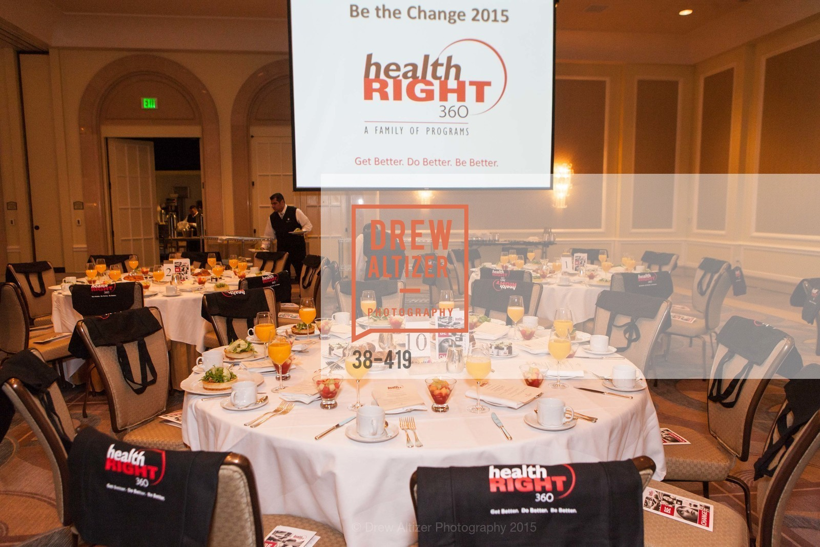 Atmosphere, HealthRight 360 BE THE  CHANGE, Four Season Hotel, Veranda Room. 757 Market Street, October 28th, 2015,Drew Altizer, Drew Altizer Photography, full-service agency, private events, San Francisco photographer, photographer california
