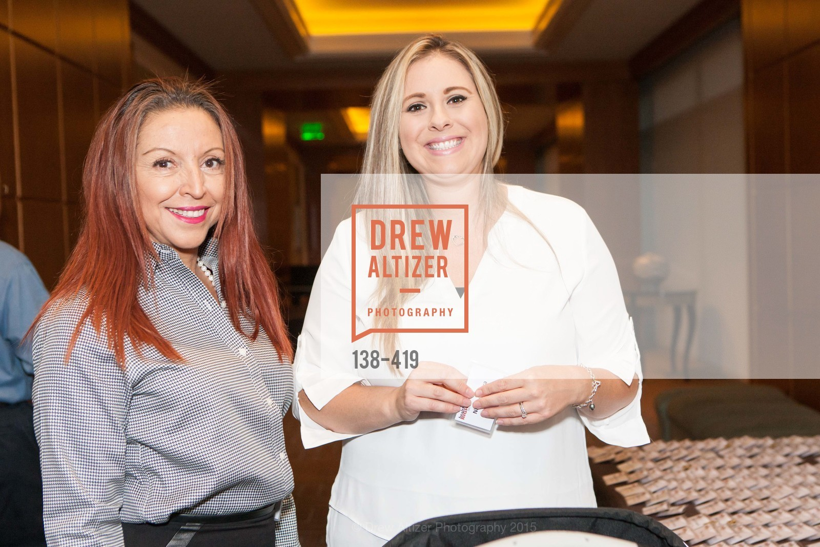 Mary Larson, Nicole Ibarra, HealthRight 360 BE THE  CHANGE, Four Season Hotel, Veranda Room. 757 Market Street, October 28th, 2015,Drew Altizer, Drew Altizer Photography, full-service agency, private events, San Francisco photographer, photographer california