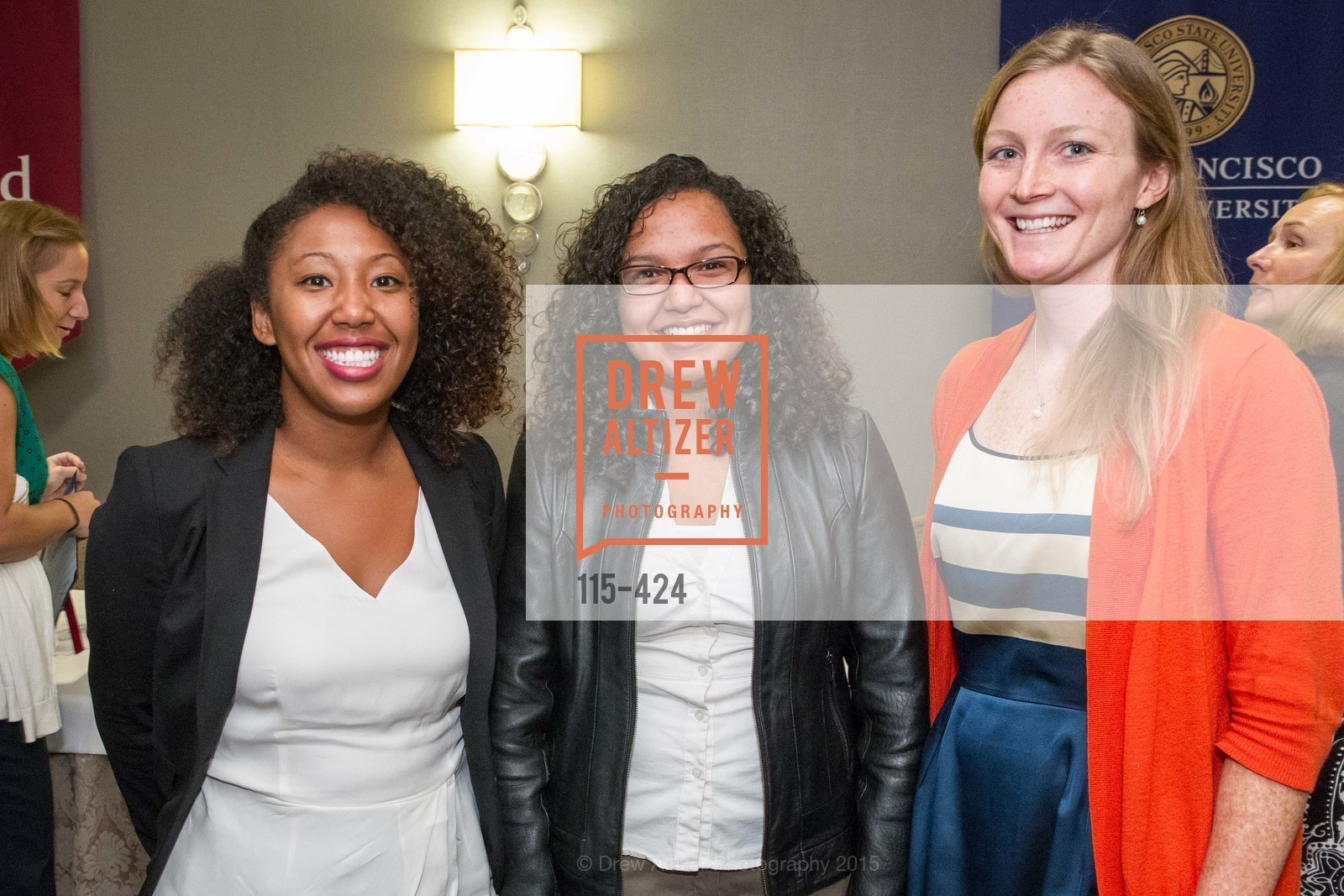 Willie Mae Reese, Rosemarie Dela Rosa, Audrey Ford, 2015 ARCS Foundation Scholar Awards Luncheon, The Fairmont San Francisco. 950 Mason St, October 29th, 2015,Drew Altizer, Drew Altizer Photography, full-service event agency, private events, San Francisco photographer, photographer California