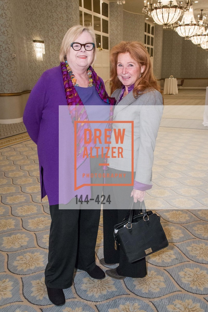 Donna Miller Casey, Sande Schlumberger, 2015 ARCS Foundation Scholar Awards Luncheon, The Fairmont San Francisco. 950 Mason St, October 29th, 2015,Drew Altizer, Drew Altizer Photography, full-service agency, private events, San Francisco photographer, photographer california