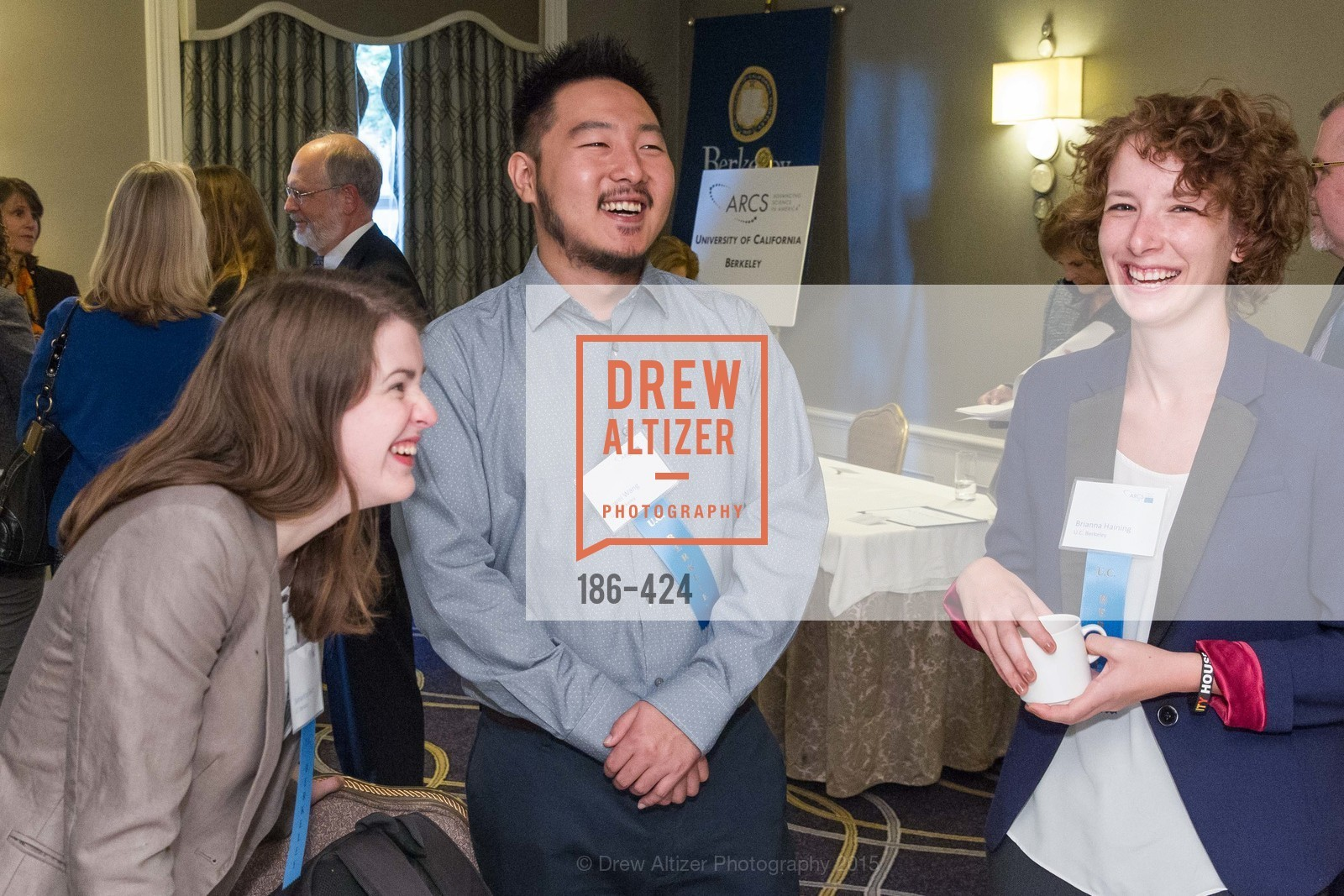 Ouwei Wang, Brianna Haining, 2015 ARCS Foundation Scholar Awards Luncheon, The Fairmont San Francisco. 950 Mason St, October 29th, 2015,Drew Altizer, Drew Altizer Photography, full-service agency, private events, San Francisco photographer, photographer california
