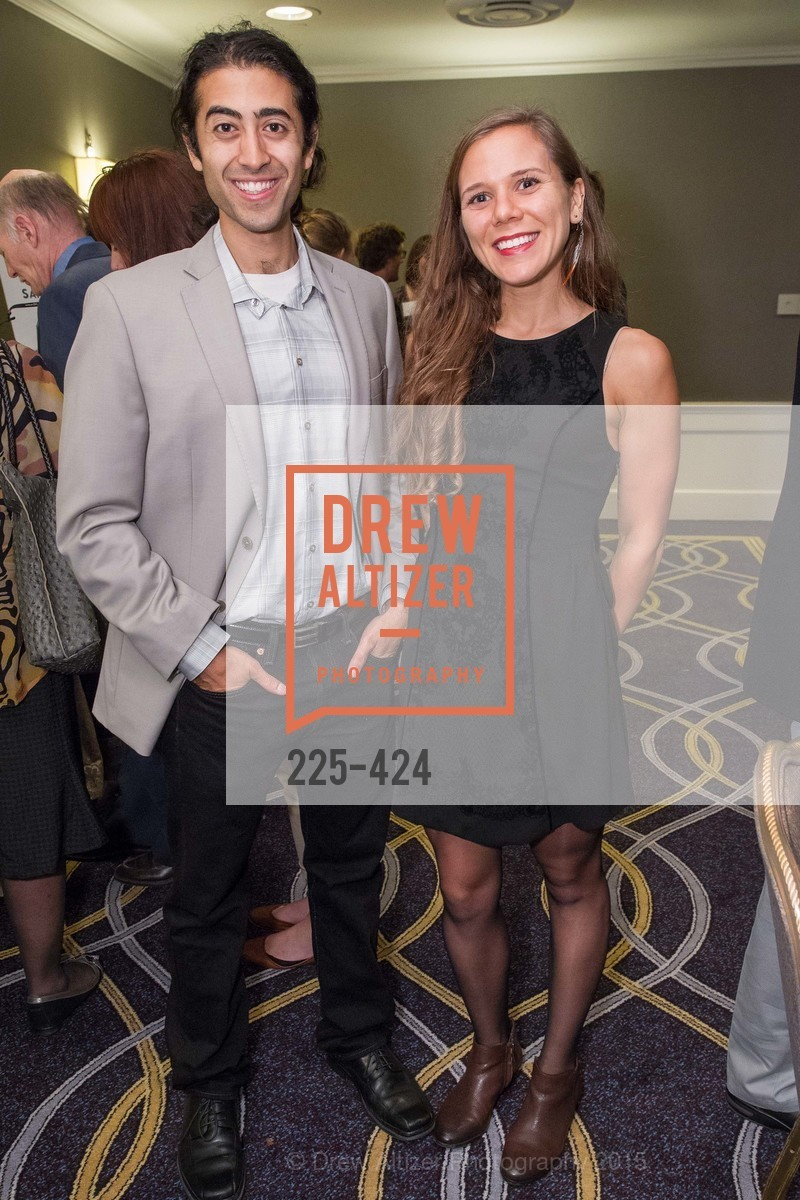 Shervin Sahba, Anna Schindler, 2015 ARCS Foundation Scholar Awards Luncheon, The Fairmont San Francisco. 950 Mason St, October 29th, 2015,Drew Altizer, Drew Altizer Photography, full-service agency, private events, San Francisco photographer, photographer california